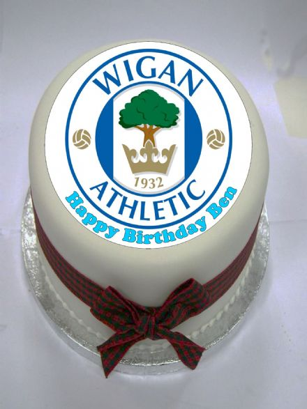 Wigan Edible Cake Topper